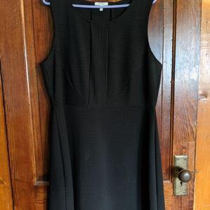 Maurice's black textured dress